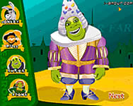 Shrek and Fiona Wedding Day online játék