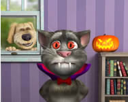 Talking Tom cat 1 online játék